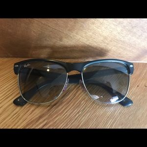 Ray-Ban Oversized Clubmaster Sunglasses (RB4175)